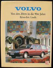 VOLVO - Von den 20ern in die 90er Jahre - Björn-Eric Lindh - Motorbuch Verlag
