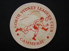 NORTH SYDNEY LEAGUES CLUB CAMMERAY COASTER