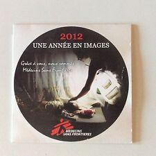 DVD MÉDECINS SANS FRONTIÈRES // 2012 UNE ANNÉE EN IMAGES