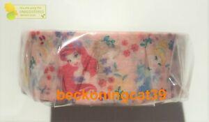 DAISO Disney Princess Masking Tape Ariel Cinderella Belle Flower MADE IN JAPAN