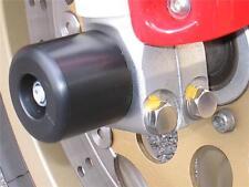 DUCATI MONSTER 1100 EVO M1100S  CRASH MUSHROOMS FRONT AXLE SLIDERS BOBBINS S2C