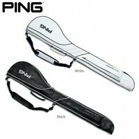 Ping Golf Carry Caddy Club Range Case Bag 5-6 Clubs GB-U192 White / Black EMS