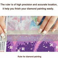5D Diamond Painting Ruler Steel Cross Stitch Tools DIY Embroidery R4Z6