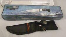 "Frost Cutlery Ocoee River Cutlery Bowie Knife Box & Sheath Oc-160 8"" overall"