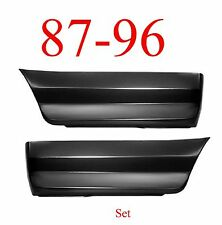 87 96 Ford Rear Lower Bed Patch Set Panel, F150, Truck, 1.2MM Thick Both Sides!