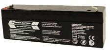 12V 2,3Ah RPower VDS Batterie Bleiakku USV Akku Notstrom Notlicht Bleibatterie