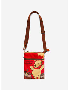 Disney Winnie The Pooh Smackeral Crossbody Bag by Loungefly - New With Tags