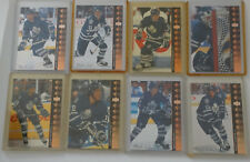 1994-95 Upper Deck UD SP Inserts Maple Leafs Team Set 8 Hockey Cards