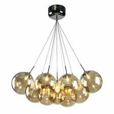 LED Chandelier Glass Globes Light Living Room Bedroom Ceiling Lamp Hallway Light