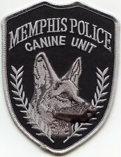 MEMPHIS TENNESSEE TN CANINE UNIT K-9 POLICE PATCH