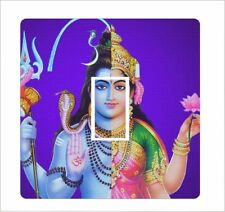 Shiva on purple background: Light Switch Sticker vinyl cover decal - 52