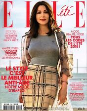 ELLE France 6 July 2018 MONICA BELLUCCI Pierre Hardy FLORENCE GIFFITH-JOYNER New