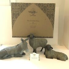 """Willow Tree - """"The Christmas Story"""" Gentle Animals of the Stable"""