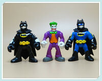LOT 3 Imaginext DC Super Friends Batman the joker Action Figure Fisher-Price