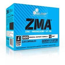 Olimp ZMA 120 Kapsel (0,16€/Einheit) Magnesium Aminosäure Zink IGF-I Testosteron