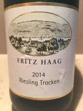 2 bt. Fritz Haag - -Riesling Qba 2013 - Mosel (11,5%/ rz 8,5 /ac 8 )