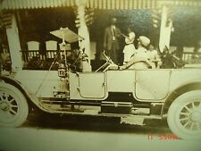 OLD 1913 TOURING CAR REAL PHOTO Postcard Buick Hudson Chalmers 6 Studebaker 1912