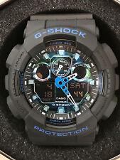 Casio G-Shock GA‑100CB‑1A Analog Digital Special Color Digital Watch
