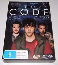 The Code : Season 1 & 2 (DVD, 2016, 4-Disc Set)