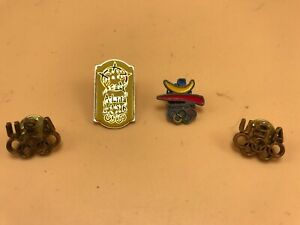 Olympic Pins Lot of 4 Barcelona '92 Atlanta 1996 Olympic Pins