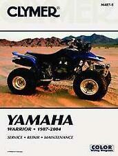 New CLYMER MANUAL YAMAHA YFM 350 X Warrior REPAIR Maintenance ATV