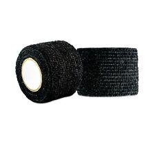 "Proguard Sports Power Flex 1.5"" x 5yd Black Grip Tape (2-pack) #156Bk-2Pk"