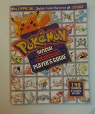 ALL 150 STICKERS Pokemon Official Nintendo Players Guide 1998 Fast Free Shipping