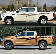 Graphics Waist Line Stripe Car Sticker SPORT Decal For NAVARA Pickup Truck Pair
