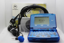 MOTOROLA V100, UNLOCKED, WORKING, rare collectable Phone in blue, original Box