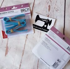 Birch Bobbin Mates, store thread and bobbin together, FREE POST from AUST