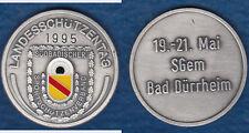 Baden Bad Dürrheim Schützen Medaille unedel ca. 38,82 g ca. 45,5 mm (B044)