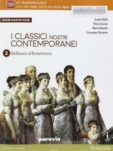 classici nostri contemporanei vol.2/4 Paravia scuola, codice:9788839526601