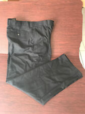 LOT 2 Mondo di Marco Mens Black Dress Pants Pleated Polyester/Rayon 38 x 32