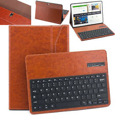For Galaxy Note PRO 12.2 & Tab PRO 12.2 Bluetooth Wireless Keyboard Leather Case