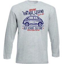 Vintage Inspiriert Deutsche Auto BMW 600-NEU Baumwolle T-Shirt