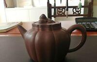 Vintage Antique Chinese Yixing Zisha Teapot Made By Master Gu bingrong 顾炳荣