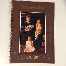 Fisher Price 50th Birthday dealer catalogue / calendar very rare