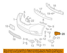 TOYOTA OEM 11-17 Sienna Front Bumper-Park Sensor 8934148010A4