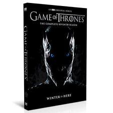 New 2017 GAME OF THRONES Seventh Season Brand New & Sealed 4 DVD SET