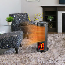 Portable Oscillating Electric Space Volcano Home Heater Freestanding with Remote