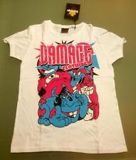 DAMAGE CLOTHING t-shirt donna, nuova, skate, snowboard, surf, punkrock,emo,bmx