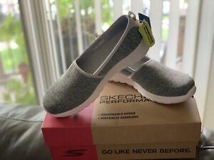 **Skechers GoWalk Joy Soft  Walking Shoes - Women's Size 9.5 Gray