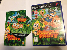 Buzz Junior: JUNGLE PARTY per Ps2 BAMBINI 3 + PAL Veloce Spedizione gratuita