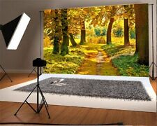 7x5ft Autumn Maple Leaf Isolated Photography Background Vinyl Backdrop