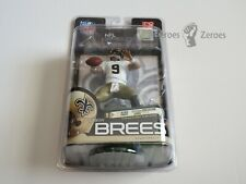 McFarlane NFL Series 23 DREW BREES Saints White Jersey with Gold Pants New NIB