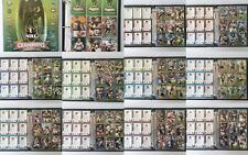 2007 NRL Rugby League Collector Card Album 1-108, 127-184, Missing 19 Cards
