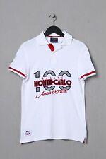 McGregor Polo-Shirt mit Applikationen S weiß RALLYE MONTE CARLO Polohemd