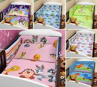 BABY BEDDING SET 2 Piece/Pc COT BED CRIB QUILT/DUVET PILLOW CASE COVER NURSERY