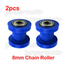 2x Chain Roller Pulley Tensioner 8mm For SSR Thumpstar CRF50 TTR Dirt Pit Bikes
