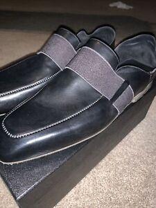 Premiata Black Leather Loafers size 11